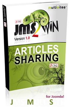 Articles sharing Version 1.0  for Joomla Multi Sites